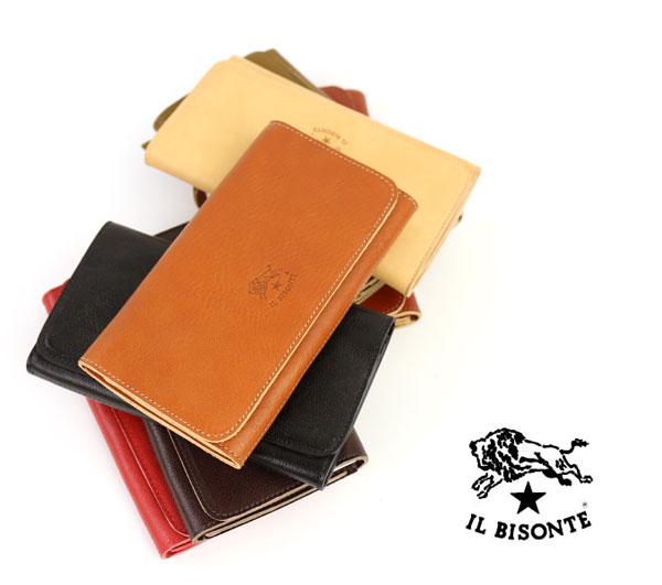 【イルビゾンテ IL BISONTE】レザー 二つ折り 長財布・412230-0061502【メンズ】【レディース】【2F】【小物】【クーポン対象外】