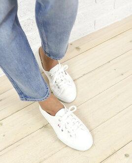 """SUPERGA (Superga) cotton canvas sneaker """"2750 COTU CLASSIC"""", S000010-0241302"""