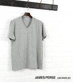 【ジェームスパース JAMES PERSE】コットン 半袖 Vネック Tシャツ・MHE3352-0171601【メンズ】【クーポン対象外】