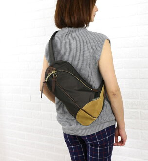 "Body EVER KHAKI (エバーカーキ) nylon shoulder bag ""day tripper classic"", EK-0041-1471302"