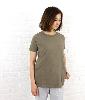 Dana Faneuil (ダナファヌル) cotton crew neck short sleeve ロングプル over-D-5210204-0231301