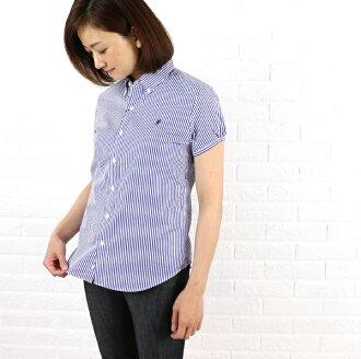 SimFlex Gymphlex cotton striped puff sleeve button down shirt, j-0645NP-0321301