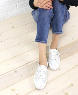 "SUPERGA (Superga) cotton canvas lame low-cut sneakers ""2750 LAMEW""-S001820-0241301"