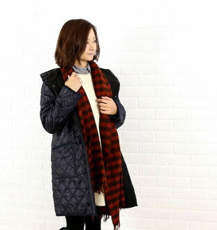 ARMEN (Amen) polyester quilted reversible hooded coat-NAM0681-0341302