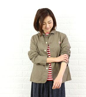 丹東 (丹東) 棉花證明圓對襟T-shirt和 JD-8711KND-0321601