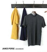 【ジェームスパース JAMES PERSE】コットン 半袖 クルーネック Tシャツ・MLJ3311-0171601【メール便可能商品】[M便 5/5]【メンズ】【クーポン対象外】