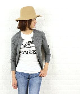 三個點 (三個圓點) 棉花混雜針織圓領羊毛衫,倘若 725Y-0441502