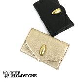 """【トフアンドロードストーン TOFF&LOADSTONE】やぎ革 カードケース """"Tannin goat dual Business cardcase""""・TLA-052-1471601【レディース】【クーポン対象外】"""