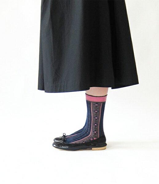 【フレンチブル French Bull】ウール混 靴下 チロルソックス・11-02172-1851702【メール便可能商品】[M便 4/5]【レディース】【JP】【◎】