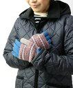 ショッピンググローブ 【ロバートマッキー ROBERT MACKIE】ウール フェアアイル柄 手袋 ニットグローブ・GL574-0311902【メール便可能商品】[M便 4/5]【レディース】