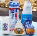 神津牧場 アラカルト ミニセット(5個)【ジャージ牛乳、飲むヨーグルト、発酵瓶バター、チェダ—、ゴーダチーズ】
