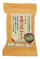 オーサワの有機立科みそ汁 1食分(7.5g)の商品画像