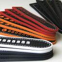 楽天ブリスショップ(楽天市場店)Rubber Cabon Hole Style / 20mm 22mm 24mm / Black White Red Navy Orange Stitching and Stainless Buckle / 腕時計 ベルト バンド ストラップ シリコン ラバー【750120】