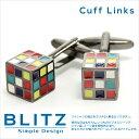 【メール便可10】ルービックキューブ ユニーク カフスボタン カフリンクス cufflinks カフス [おしゃれ]メンズ レディース カフス