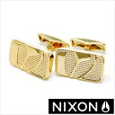 NIXON カフス ニクソン icon カフリンクス バッジカフリンクス( Badge Cuff Links )メンズアクセサリー/TP-NIXON-1501GOLD[レア ギフト プレゼント ブランド]
