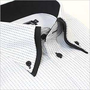 ワイシャツ カフスボタン ドレッシーデザイン