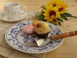 Elbe 蛋糕碟子19.5cm(1张(件))【特价】【bloom-plus】[美濃焼【エルベ】ケーキ皿 19.5x2.5cm(1枚)【美濃焼,エルベのケーキ皿,cake】【02P08Feb15】]