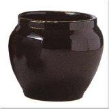 ブラックテラコッタ 10号(信楽焼陶器鉢カバー)