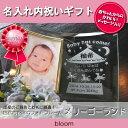 名入れ フォトフレーム 出産内祝い 名前入り 出生データ 両親 祖父母 お返し お礼 かわいい 写真