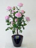 """""""超質感""""光触媒アートフラワー(造花) ばら(バラ・薔薇)1本立ち(ピンク)生花と間違えるほどのリアルな質感をぜひ体験してください。贈り物・母の日・新築祝・開店祝・誕生日・記念日・"""