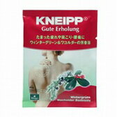 クナイプ(KNEIPP) バスソルト グーテエアホールング ウィンターグリーン&ワコルダーの香り 40g 【医薬部外品】【正規品】