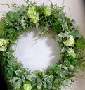 グリーン ミックス リース・ウェルカムボード クリスマス
