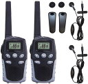 決算セール BlueCentury 本体2台セット&イヤホンマイク2個付属トランシーバー BC-20 無線機 インカム