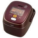 【送料無料】象印 炊飯器 圧力IH式 1升炊き ボルドー NP-YT18-VD