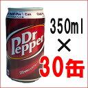Dr.Pepper 『ドクターペッパー』 350ml 30缶 炭酸 飲料 ジュース 飲み物 炭酸 スパークリング コカ コーラ coke 1ケース クラブマルチパック缶