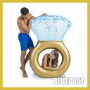 [浮き輪]【ブリングリング】すてき!指輪の形をしたプールフロート浮き輪 ビッグマウ