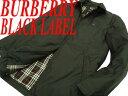 【中古】●バーバリーブラックレーベル BURBERRY BLACK LABEL●薄手ダウンジャケット ...