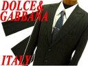 【中古】正規品◆ドルチェ&ガッバーナ 上質シングルスーツ 上下セットアップ