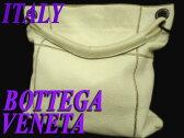 【中古】正規品◆ボッテガヴェネタ レザーショルダーバッグ イタリア製