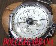 【中古】正規▼ドルチェ&ガッバーナ D&G クロノグラフ 腕時計 シルバー
