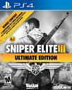 【新品 PS4 北米版】Sniper Elite III Ultimate Edition / スナ