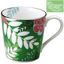 【NARUMI(ナルミ)】  フローラルパラダイス マグカップ(緑) ブランド通販 【創業明治元年の信頼と安心感】05P03Sep16