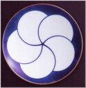 【白山陶器】 《 ねじり梅 3寸和皿》