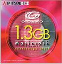 三菱化学メディア MO 3.5インチ 1.3GB Macフォーマット1枚シースルーシェル Pケース入 KR1G3M1S