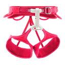 伸縮性レッグループ付女性用クライミングハーネス