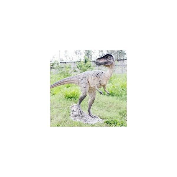 代引不可-高さ189cm!振り向くアロサウルス...の紹介画像2