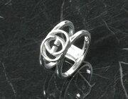 グッチ GUCCI リング【指輪】 ダブルG スターリングシルバー 295716 J8400 8106 メンズ レディース