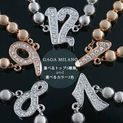 ガガミラノ GAGA MILANO ブレスレット ナンバー LBN PGWG レディース 【選べるナンバー】【選べるカラー】