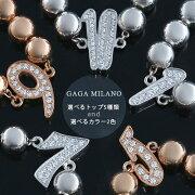 ガガミラノ GAGA MILANO ブレスレット ナンバー MBN PGWG メンズ 【選べるナンバー】【選べるカラー】