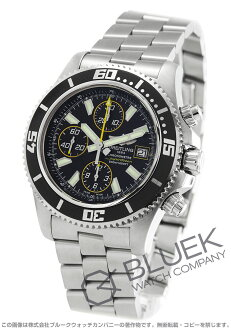 Breitling superocean chronometer chronograph black mens A110B82PRS (A1334102)