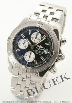 Rakuten Japan sale ★ Breitling Wind Rider chronomat evolution chronograph black mens A156B19PA