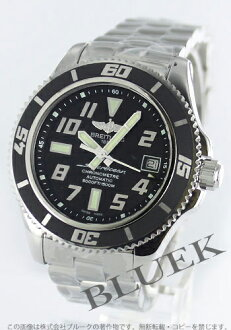 Breitling aeromarine superocean 42 chronometer 1500 m waterproof black mens A187B28PRS