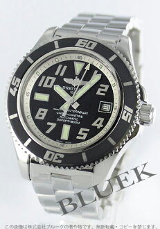 Breitling aeromarine superocean 42 chronometer 1500 m waterproof black & ivory men's A187B29PRS
