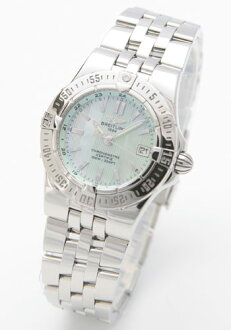 Breitling Wind Rider star liner green shell Womens A710L12PA