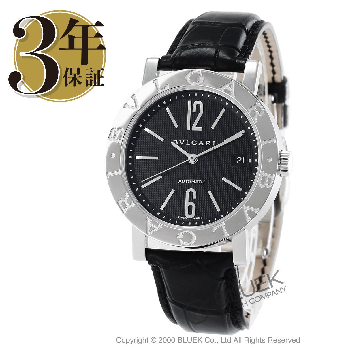 ブルガリ ブルガリブルガリ アリゲーターレザー 腕時計 メンズ BVLGARI BB38BSLD_8