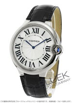 カルティエ Cartier エクストラフラット バロンブルー WG金無垢 アリゲーターレザー メンズ W6920055